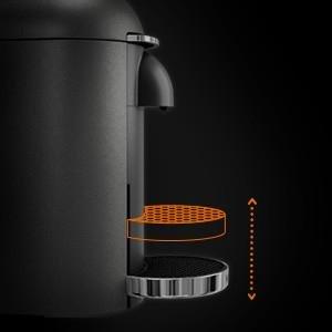 hauteur tasse krups machine à café nespresso vertuo + plus
