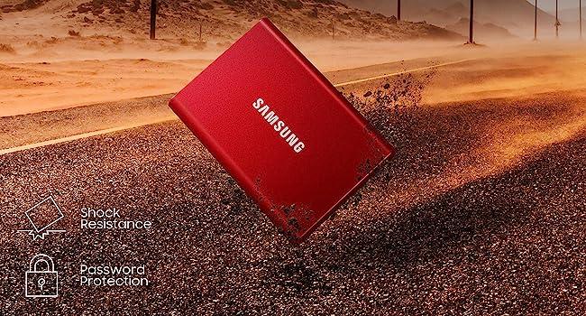 Samsung, ssd, portable, T7