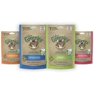 greenies, cat, feline greenies, cat treats, dental cat