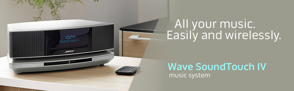 bose sound touch wave ; bose wireless music system; bose one-piece wireless system; wi-fi speakers