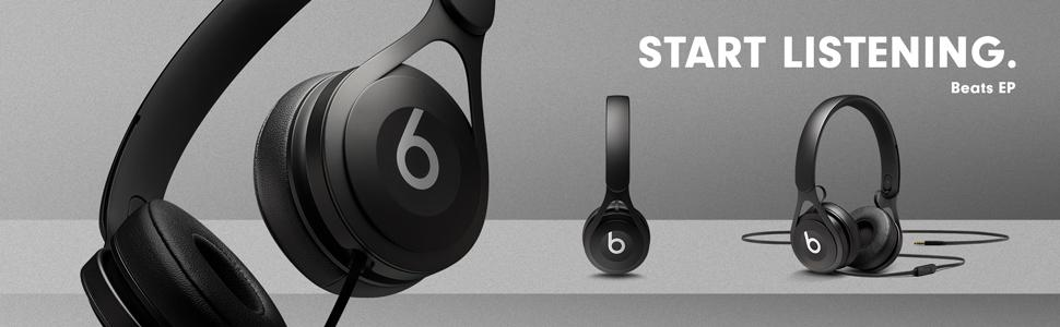 Amazon.com: Beats EP Wired On-Ear Headphone - Black