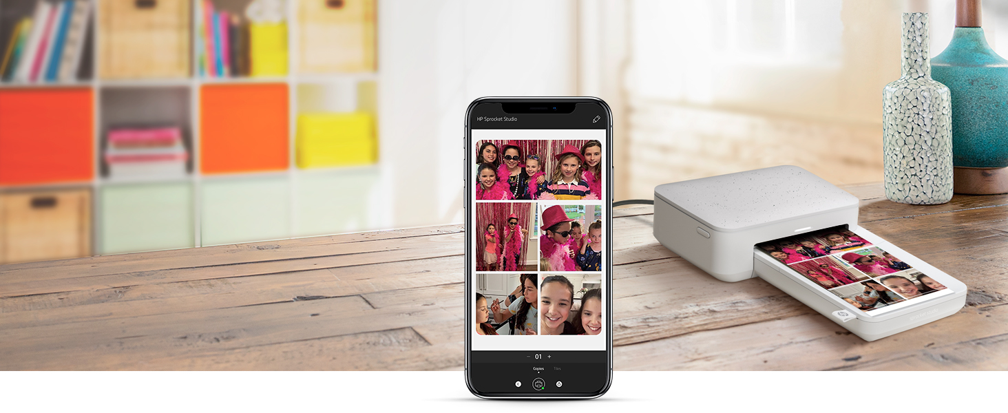 easy print collage layout combine multiple photos phone printing