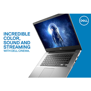 Dell Inspiron 15 5580 Laptop, 8th Gen Intel Core I5-8265U Proc(6Mb Cache,  up to 3 9 GHz), 15 6