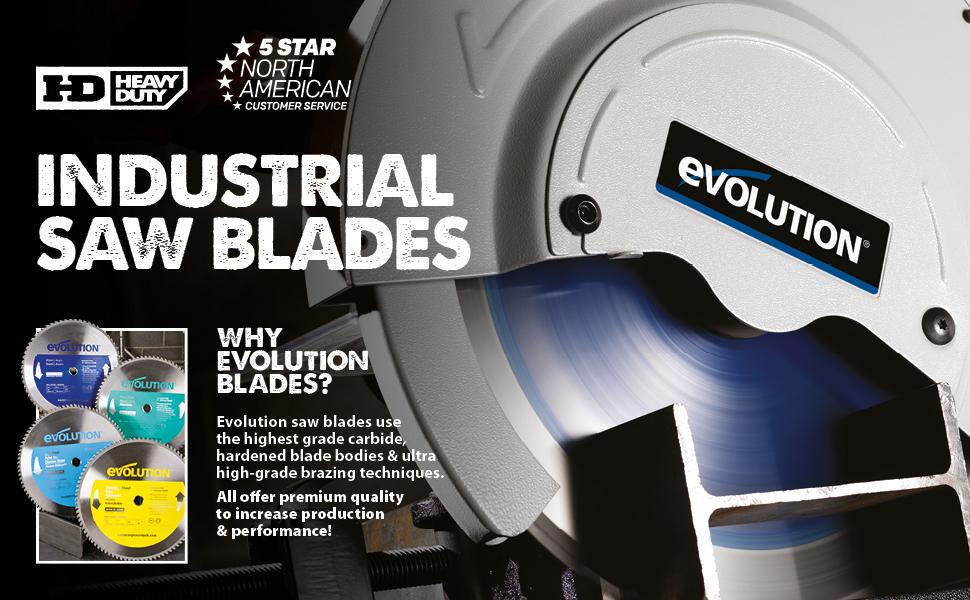 Industrial Steel Blades