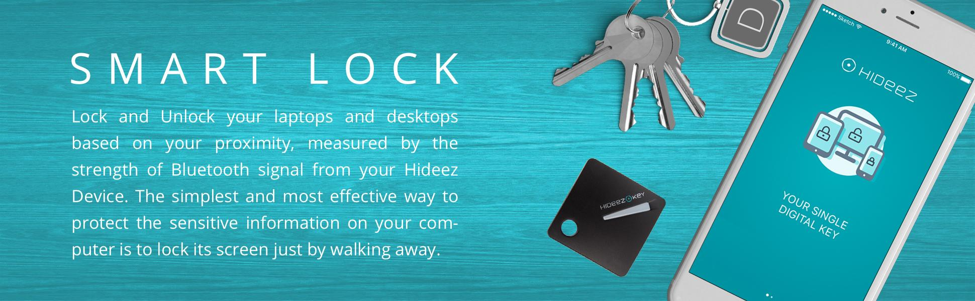 Amazon Com Hideez Key Bluetooth Password Manager Amp Vault