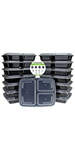portion control food container