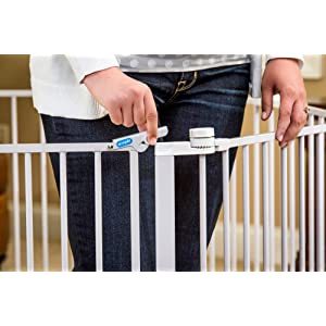 easy onetouch safety lock release lever