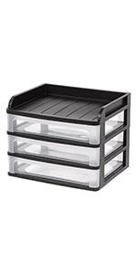 desk organizer drawer, 3 drawer plastic storage drawer organizers, office desk drawer organizer,