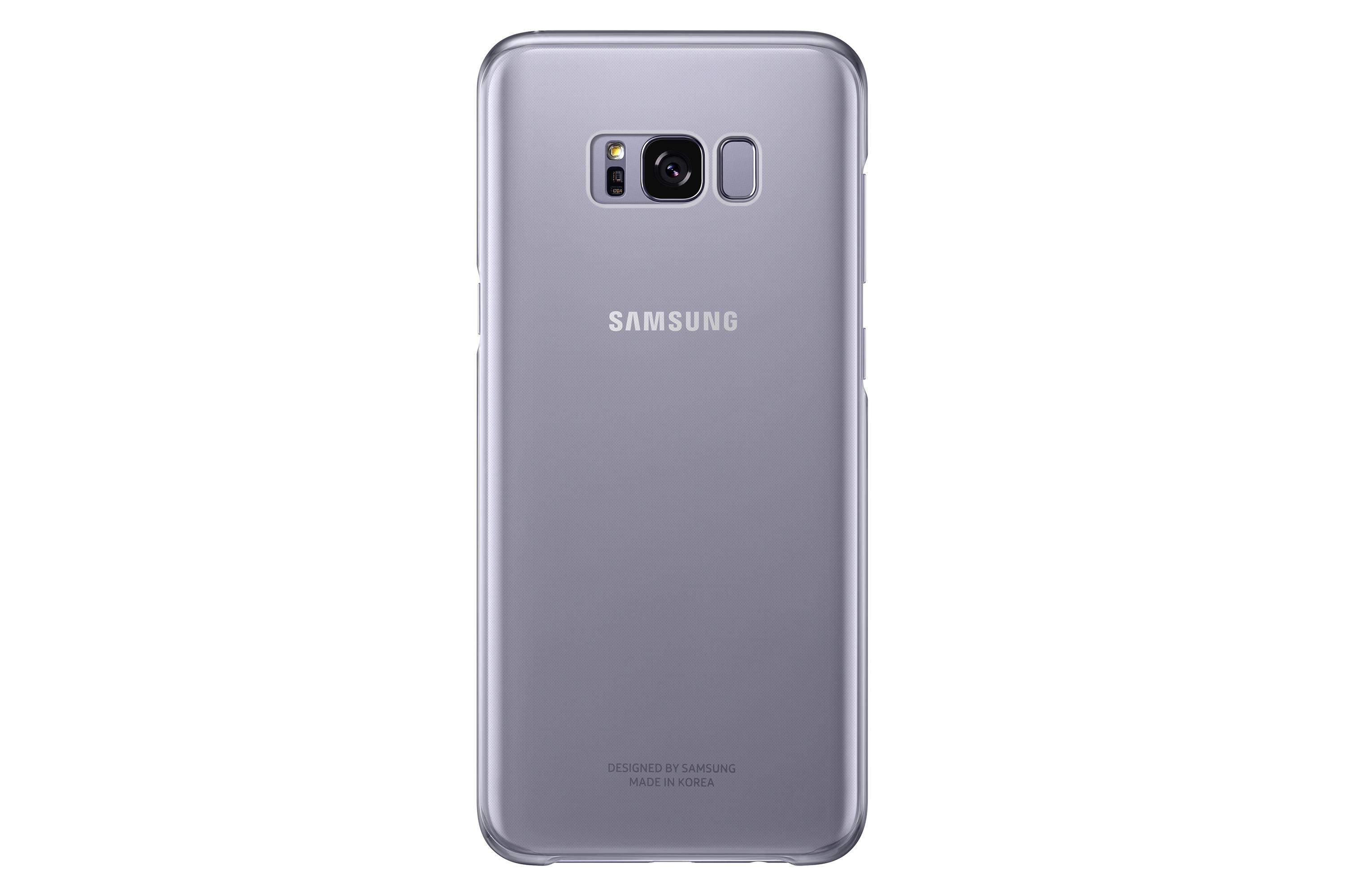 the best attitude f9b04 6cf73 Samsung Galaxy S8+ Clear Protective Cover, Orchid Grey