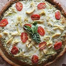 pizza, protein pizza, vegan protein powder, whey protein powder, pantry, prime pantry, whole grains