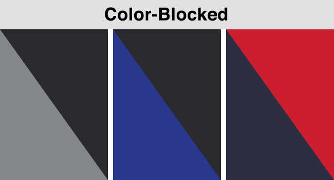 COLOR-BLOCKED OPTIONS