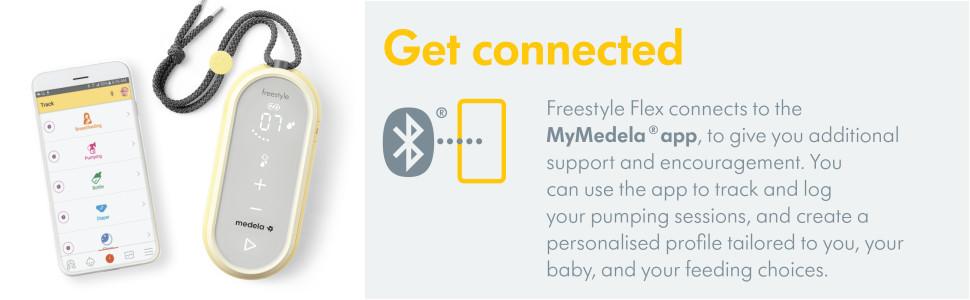 Get Connected Freestyle Flex Medela App