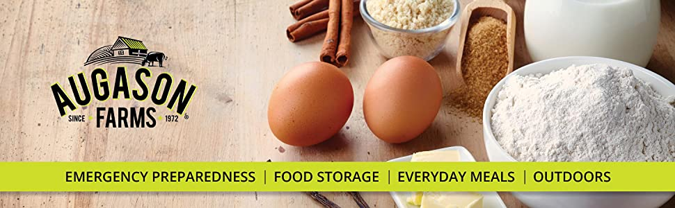 Augason Farms Emergency Preparedness Food Storage Baking Mixes Cooking Chef