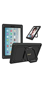Amazon.com: Fintie Keyboard Case for All-New Fire HD 10 (7th ...