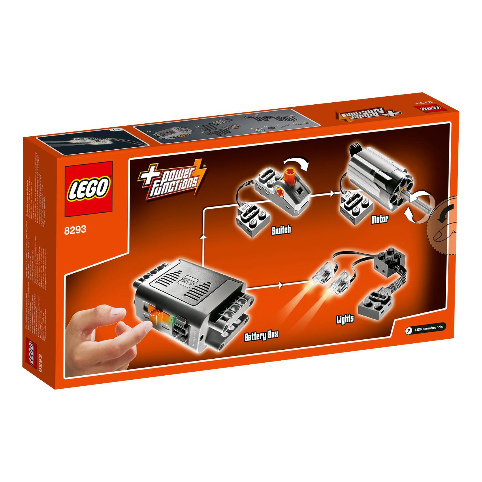 lego technic power functions motor set 8293 storage accessories amazon canada. Black Bedroom Furniture Sets. Home Design Ideas