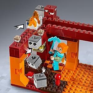 LEGO Minecraft The Blaze Bridge