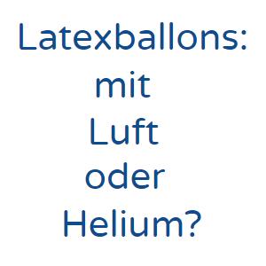 latexballons, luftballons, ballons mit helium, helium, ballons