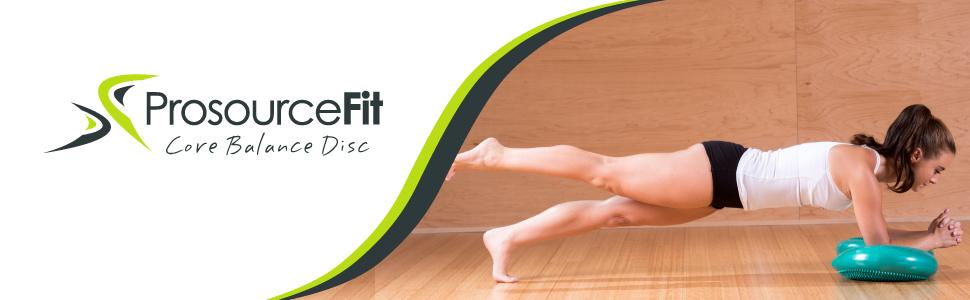 ":  ProsourceFit Core Balance Disc Trainer, 14"""