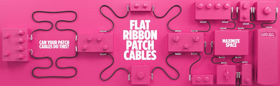 Plat Ribbon Patch Cables