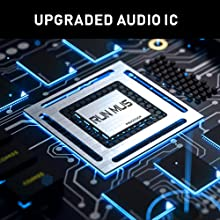 Upgraded Audio IC