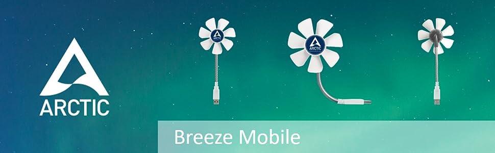 Arctic Breeze USB desktop fan