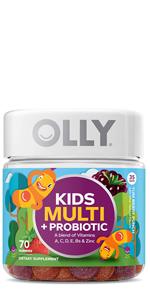 olly kids multi probiotic