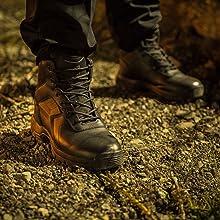 BOPS8002 comp toe police boots EMT boots tactical boots