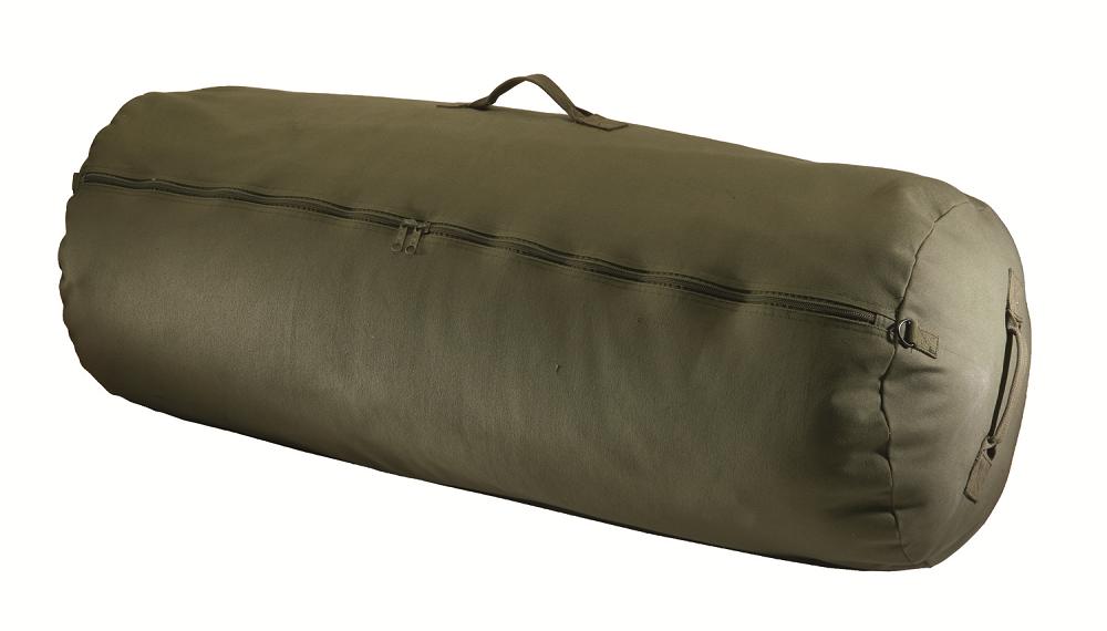 Amazon.com: Texsport Zipper Canvas Duffle Duffel Roll Travel ...