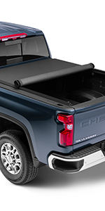 Amazon Com Lund Genesis Roll Up Soft Roll Up Truck Bed Tonneau Cover 96072 Fits 2015 2020 Ford F 150 5 7 Bed 67 1 Automotive