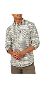 ATG x Wrangler Plaid Utility Shirt