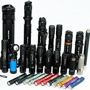 fenix flashlights collection e series bright waterproof
