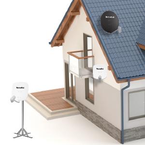 technisat digidish 45 satellitensch ssel 45 cm sat anlage. Black Bedroom Furniture Sets. Home Design Ideas