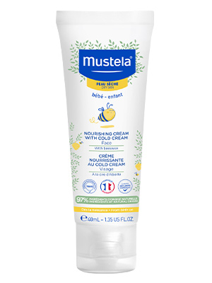 Bottle of Nourishing Cream to help nourish and protect dry skin with long-lasting moisture
