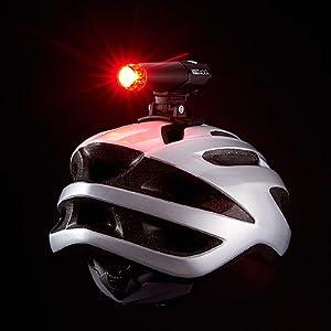 VOLT400DUPLEX ヘルメットライト テールライト セーフティライト ロードバイク ブルベ