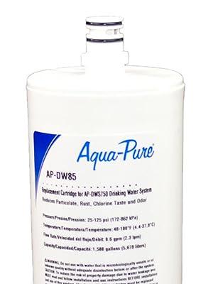 3M Aqua-Pure Under Sink Dedicated Faucet Replacement Water Filter Cartridge AP-DW85 5584408