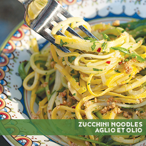 Well Fed, paleo, recipes, paleo recipes, healthy recipes, Whole30, Zucchini Noodles Aglio et Olio