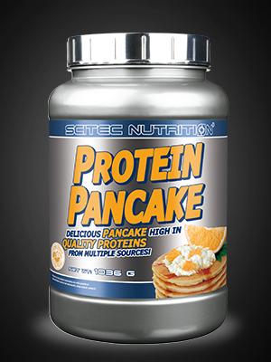 scitec nutrition protein pancake comida funcional