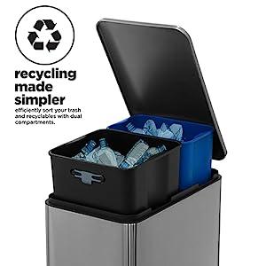 recycler dual bin