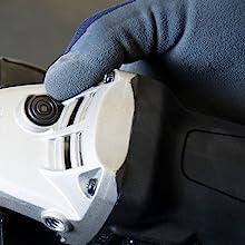 grinder spindle lock