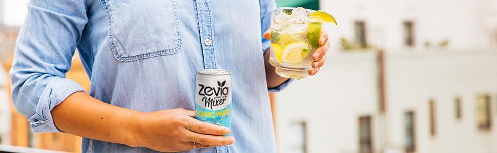 Amazon Zevia Tonic Water 75 Ounce Can 12 Count Zero
