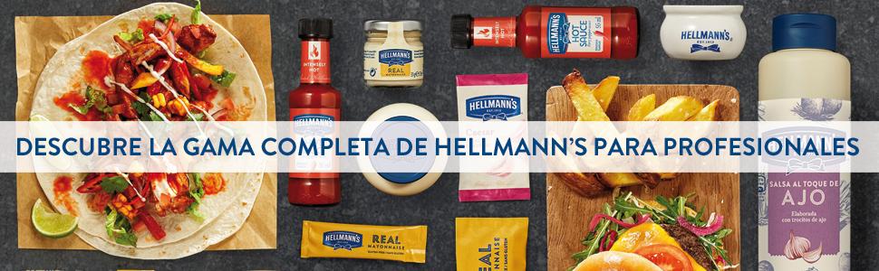 Hellmanns salsa Ketchup Sin Gluten - caja con 198 ...
