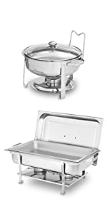 Buffet Chafers - 4 and 8 QT