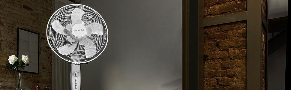 Cecotec EnergySilence 1010 ExtremeFlow Ventilador de pie 10 aspas ...
