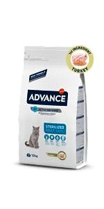 Advance Junior Sterilized - Pienso para Gatos esterilizados ...