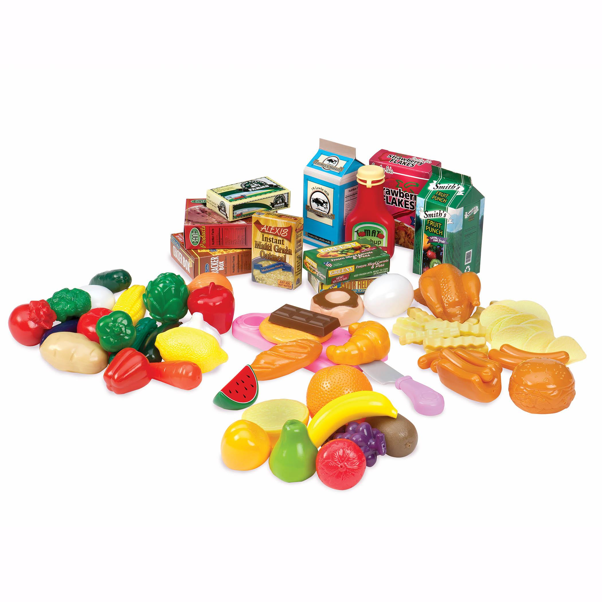 Toy Food For Toddlers : Amazon play circle pantry in a bucket toy food for