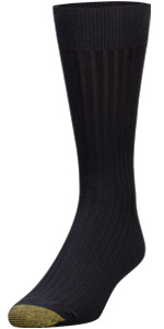GOLDTOE Canterbury; dress sock