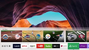 Samsung QN55Q7F Flat 4K Ultra HD Smart QLED TV smart hub