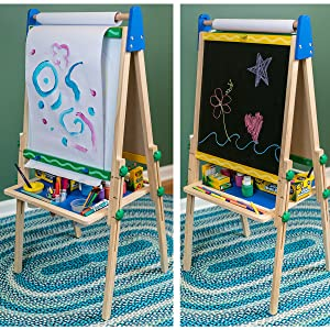 Art, Easel, Whiteboard, Paper, Chalkboard, Painting, Pens, Markers, Artist, Kids, Dry Erase, Crayon