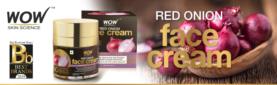 WOW Skin Science Red Onion Face Cream