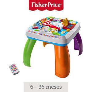 Fisher-Price DRH34 - Mesa Multiaprendizaje Bilingüe, Mesa ...
